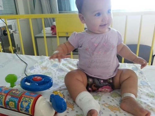 No more stressing out that EVERYTHING can be a choking hazard (in hospital after she swallowed a breast pump valve.)
