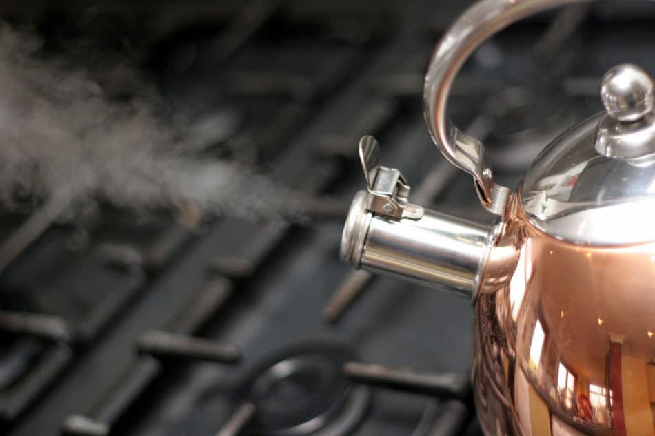 boiling water homemade playdough