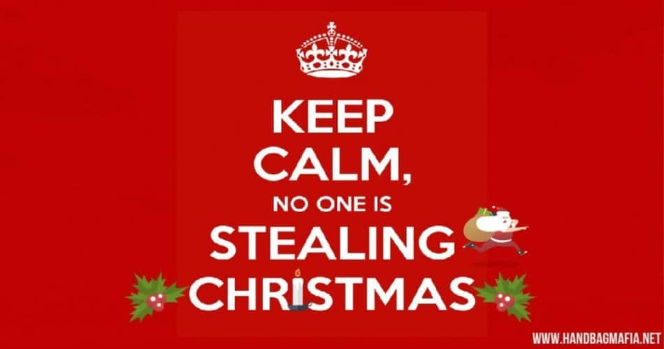nobody is stealing Christmas