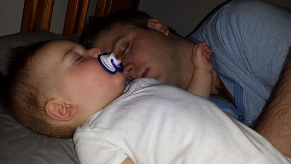 bad sleeper asleep