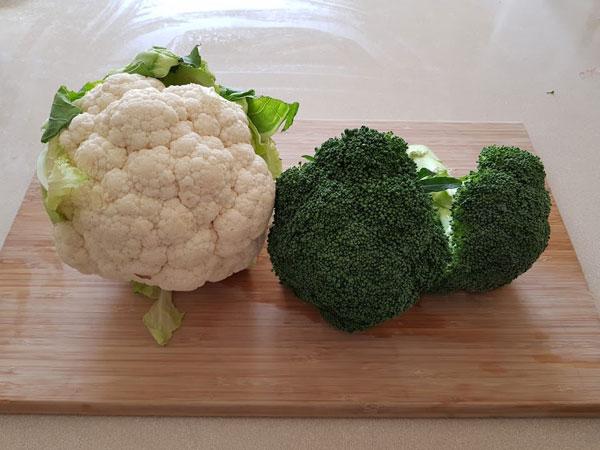 broccoli and cauliflower soup 2