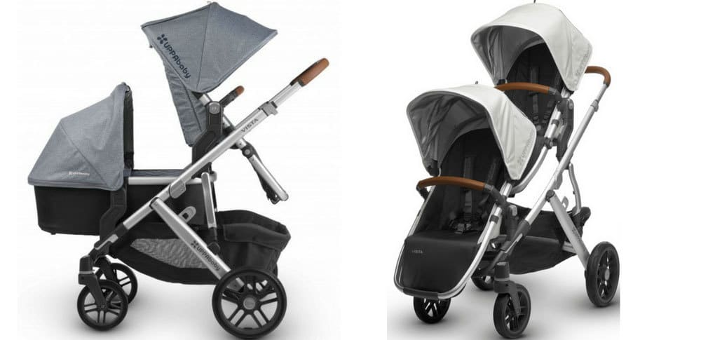 best double prams 2018 uppababy vista