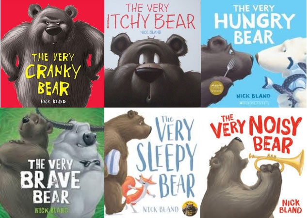the very cranky bear series