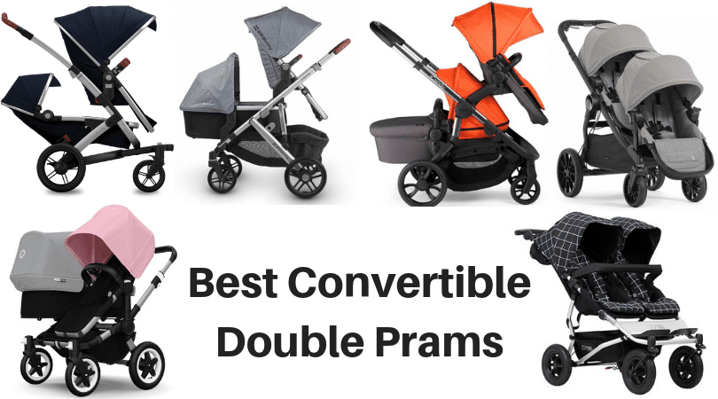 best convertible double prams
