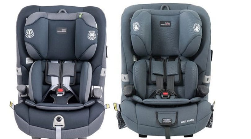 Britax Maxi Guard Pro (Left) and Britax Maxi Guard (Right)